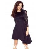 czarna koronkowa sukienka bergamo