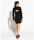 mala czarna sukienka MIKO - Dursi