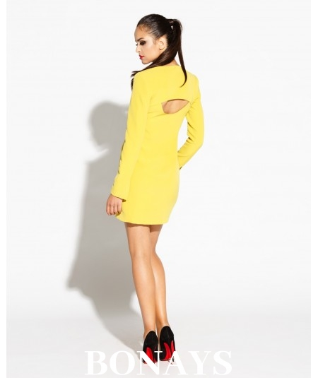 Dzienna żółta sukienka MIKO - Dursi