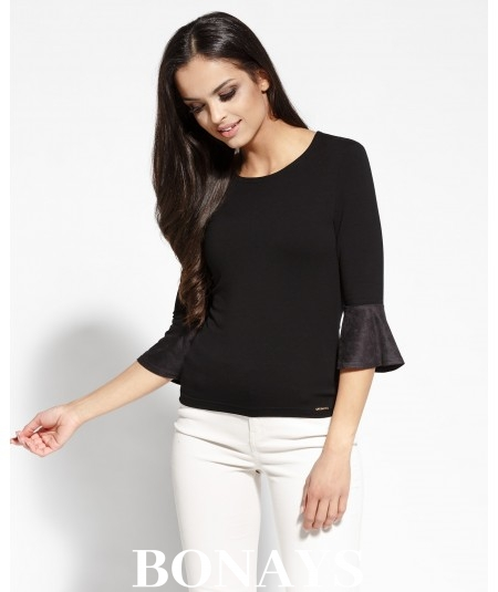 Elegancka bluzka Torro - czarna