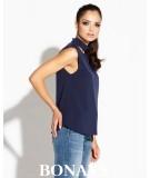 Elegancka bluzka granatowa Siti - Dursi