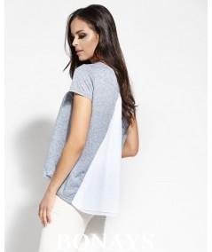 Bluzka dzienna - tshirt niebieska