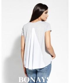 Bluzka dzienna - tshirt szara