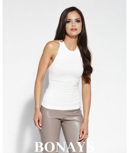 bluzka z odkrytymi plecami marki dursi, model epi