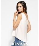 brzoskwiniowa bluzka Sense - Dursi