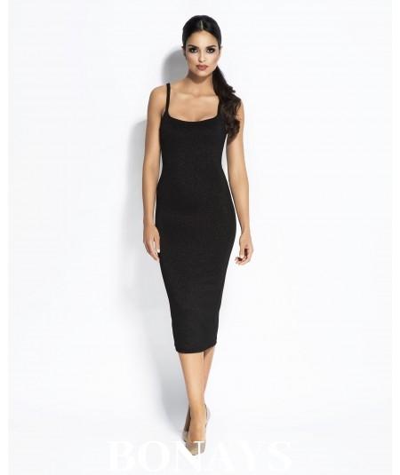 Sukienka MIDI Charme - czarna