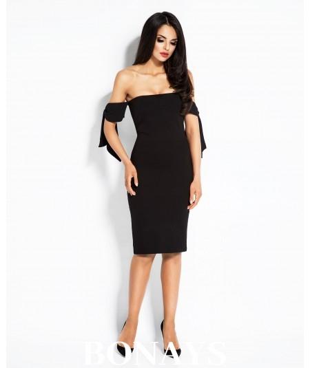 Sukienka typu hiszpanka Adele - czarna