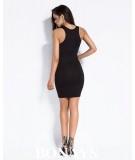 mała czarna, dopasowana czarna sukienka dursi