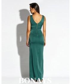 Sukienka maxi Bella - producent dursi zielona
