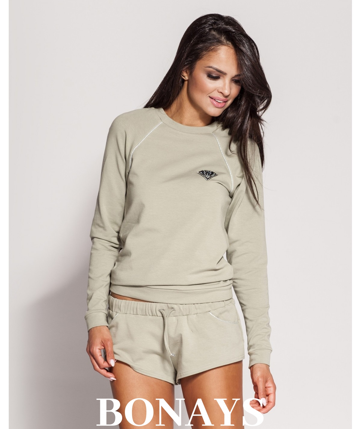 sportowa bluza khaki marki dursi