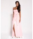 Długa suknia rózowa - lorica Dursi