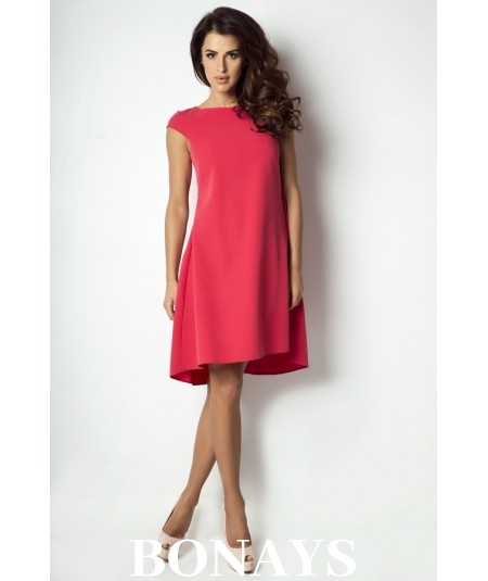 Asymetryczna, luźna sukienka Angelina