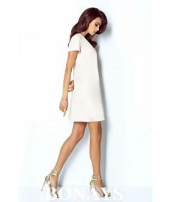 trapezowa sukienka z dekoltem V - matilda