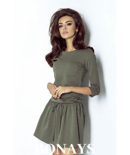 Sukienka khaki -ivon anette