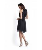 sukienka na wesele - czarna