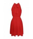 czerwona sukienka na wesele, bal i wiosenne dni