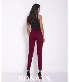 Eleganckie, wygodne spodnie długie damskie - Conon beż