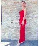 Sukienka maxi o dopasowanym fasonie