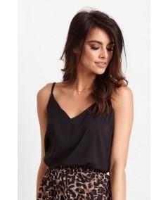 minimalistyczna bluzka na cienkich ramiączkach fabia ivon