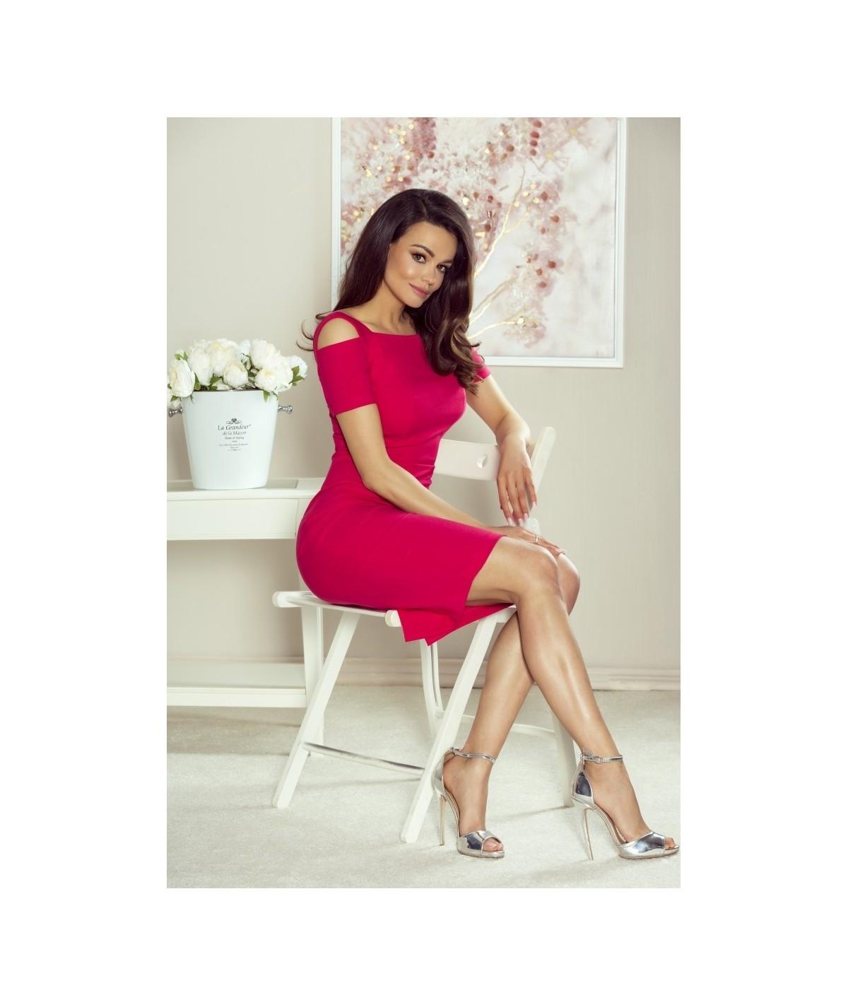 elegancka ołówkowa sukienka damska Paula