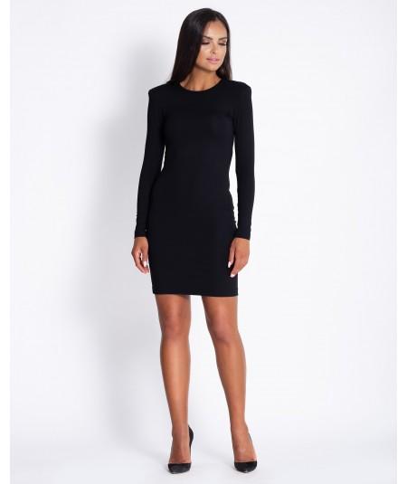 Mała czarna dopasowana sukienka Dursi