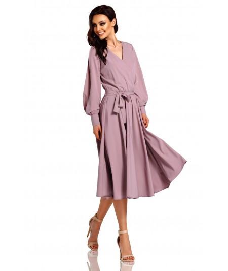 Rozkloszowana sukienka MIDI - Lemoniade L295