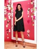 Czarna luźna sukienka Lemoniade L298