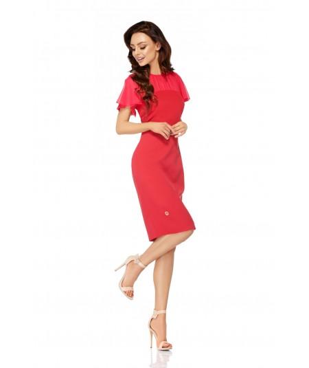 Malnowa sukienka na wesele -Lemoniade L299