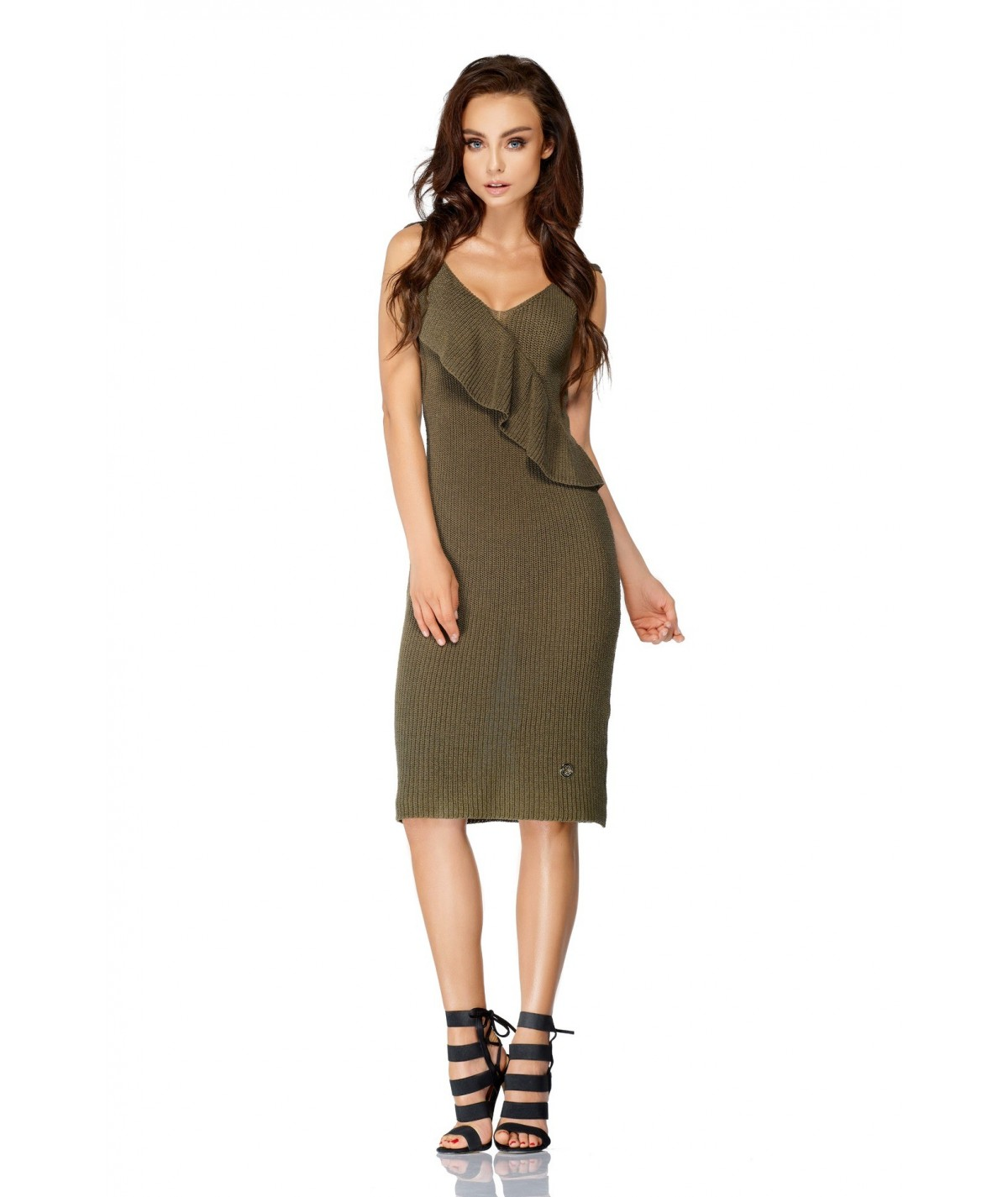 Dopasowana sukienka na plażę Lemoniade Model LSG102