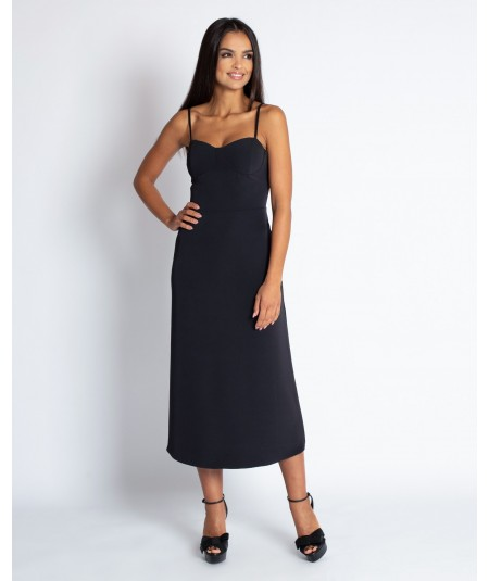 czarna sukienka nail - dursi