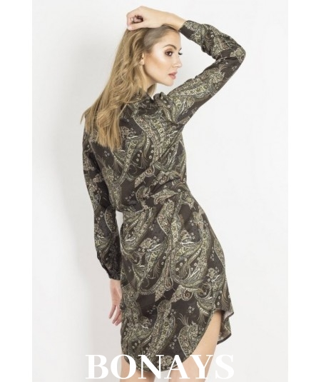 zielona sukienka amara marki IVON