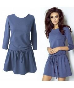 niebieska sukienka anette - ivon