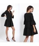 czarna oversizowa sukienka IVON greta
