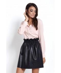 rózowa elegancka koszula slim fit melanie
