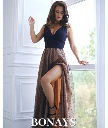 długa suknia na studniówkę bicotone