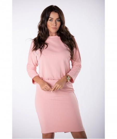Różowy komplet dresowy ze spódnicą Miranda