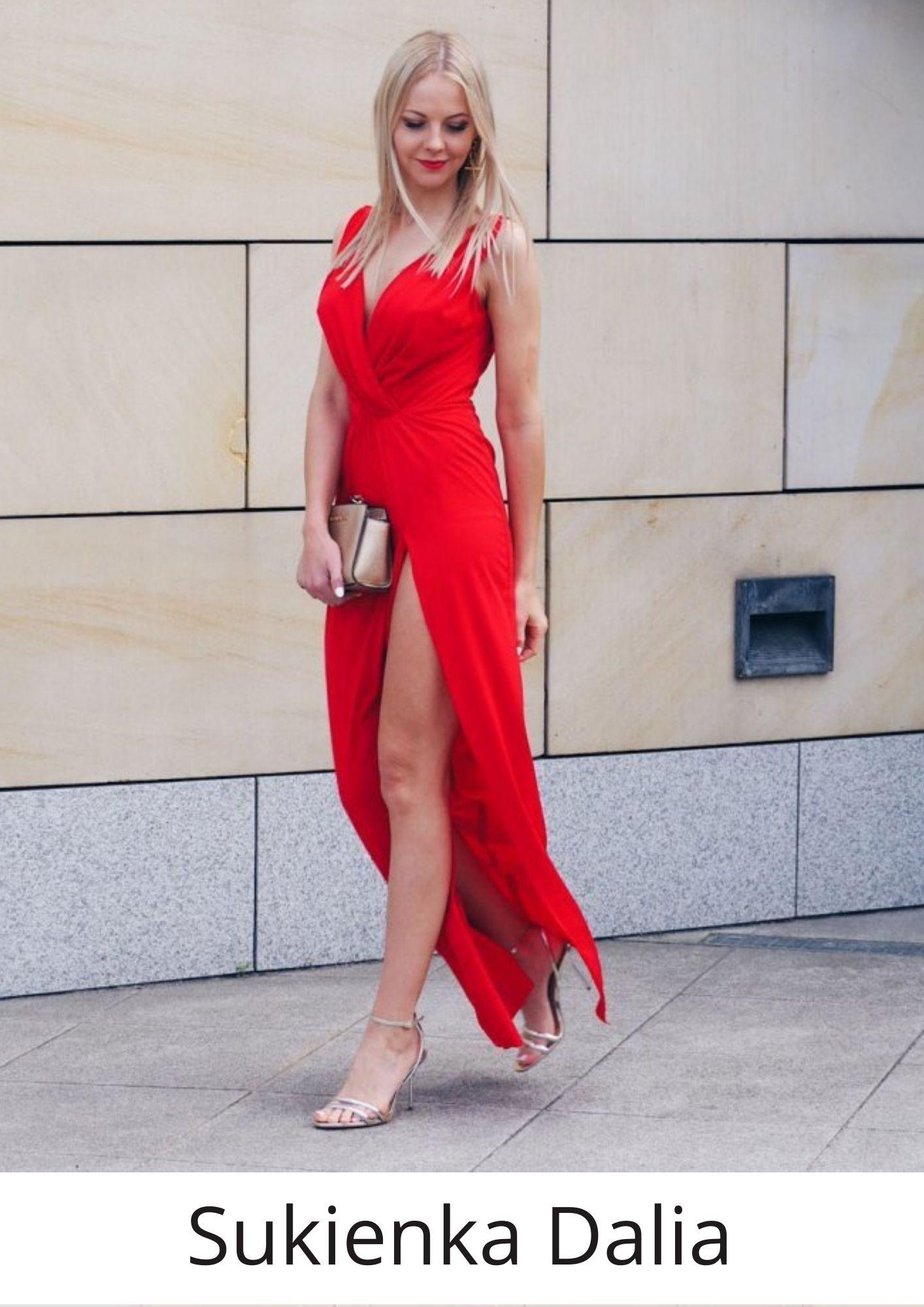 Długa suknia Dalia marki IVON