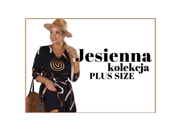 Jesienna kolekcja sukienek Plus Size